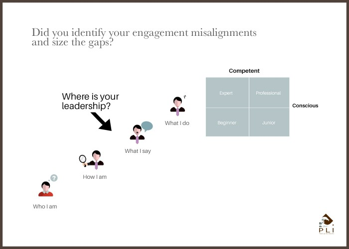 Did you identify your engagement misalignments and size the gaps Sans Cadre